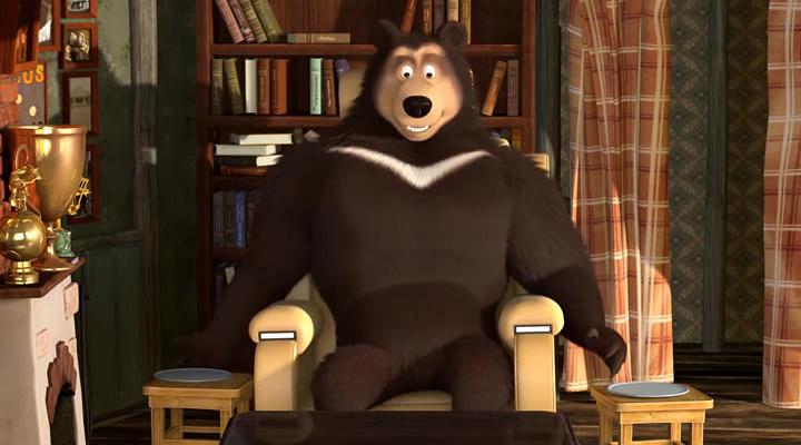 Маша и Медведь [1-70] + Машины Сказки [1-26] + Машкины страшилки [1-25] + Клип (2009-2018) HDRip, WEB-DLRip