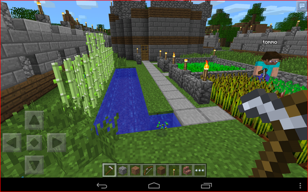 Minecraft 0.9.0 [build 6] (2011) Android