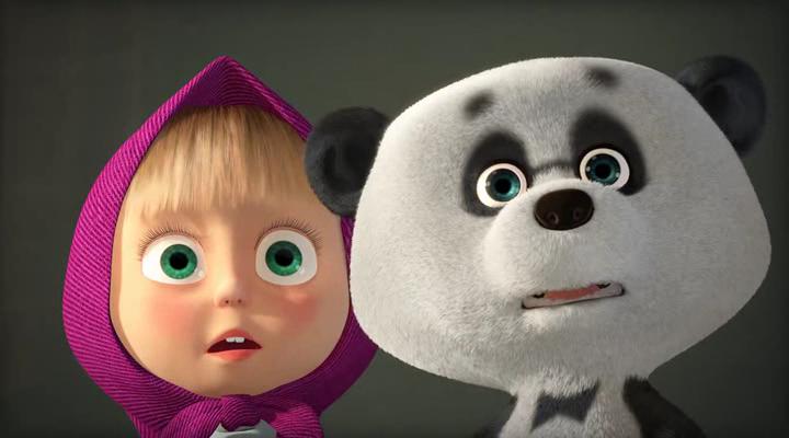 Маша и Медведь [01-62] + Сказки [01-26] + Страшилки [01-18] + Клип | HDRip