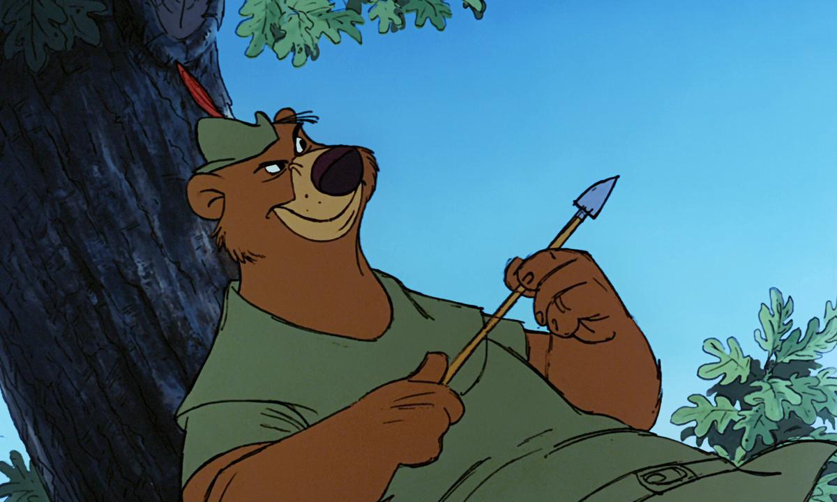 Робин Гуд / Robin Hood (1973/BDRip) 720p   D, P, A