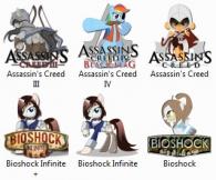 Пони-иконки / Pony icons [329 шт.] (2013-2015) ICO